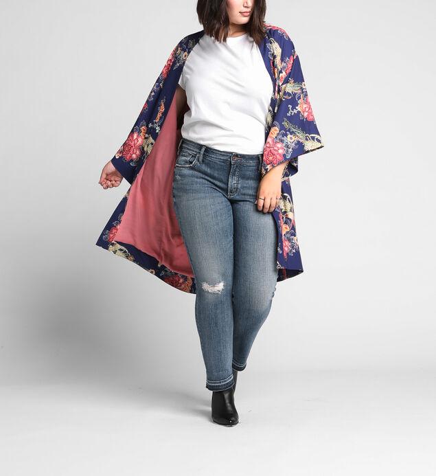 Jordyn Floral-Print Kimono