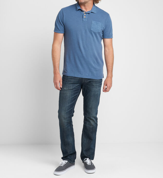 Brent Short-Sleeve Polo, , hi-res