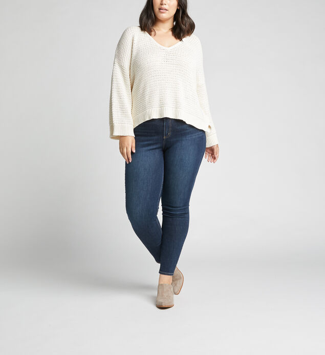 Calley High Rise Skinny Leg Jeans Plus Size