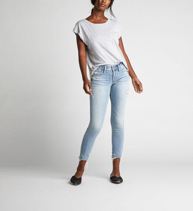 Suki Mid Rise Skinny Crop Jeans