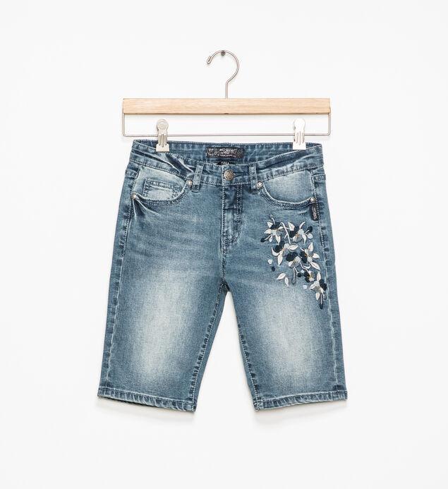Tina Embroidered Bermuda Shorts (7-16)