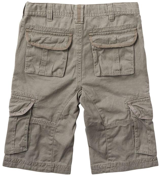 Twill Cargo Shorts (4-7), , hi-res