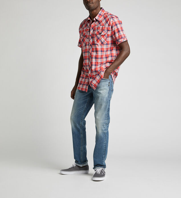 Cassidy Plaid Shirt, , hi-res