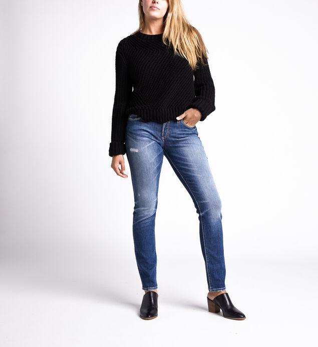 Suki Mid Rise Straight Jeans