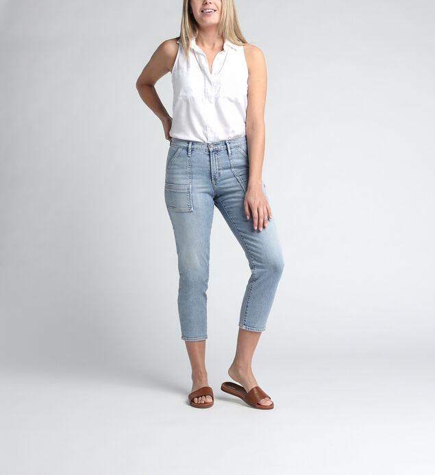 In The Loop Mid Rise Ankle Slim Leg Jeans