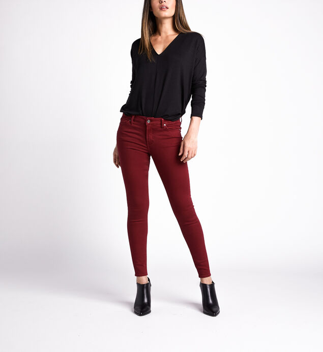 Most Wanted Mid Rise Skinny Leg Pants