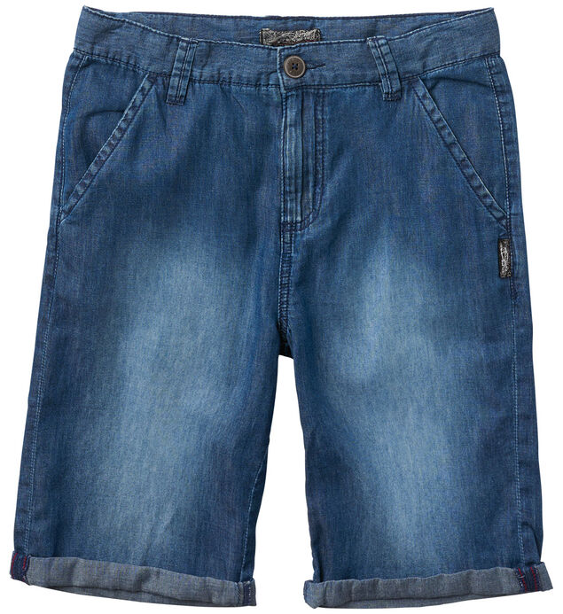Denim Shorts in Medium Wash (7-16)