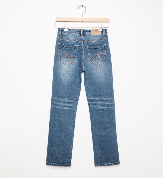 Benny Medium-Wash Straight Leg Jeans (8-16), , hi-res