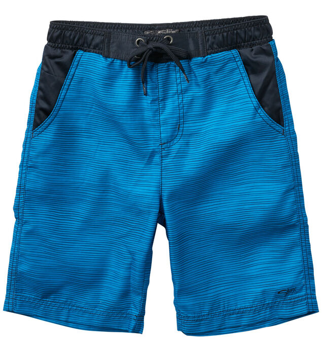 Color-Blocked Swim Trunks (7-16)