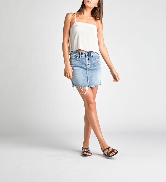 Francy Mid Rise Mini Skirt