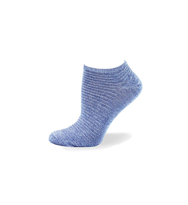 Link Patterned Ankle Socks