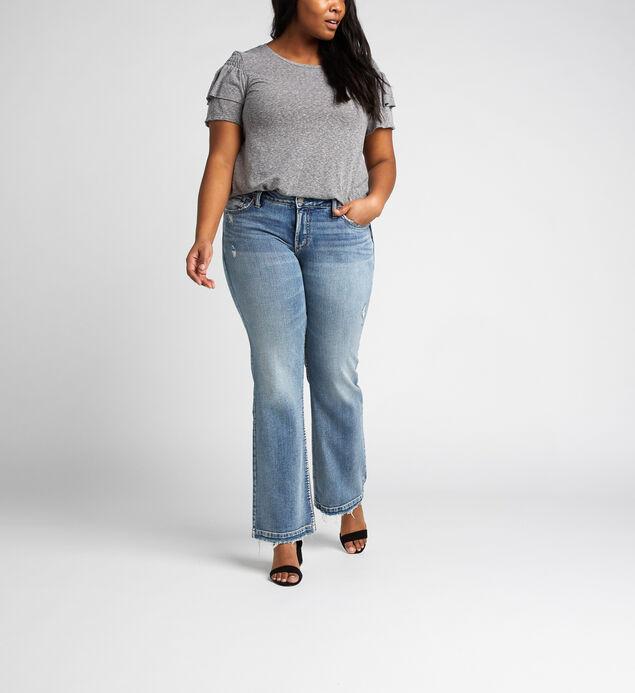 f5ff64995 ... Suki Mid Rise Slim Bootcut Jeans Plus Size