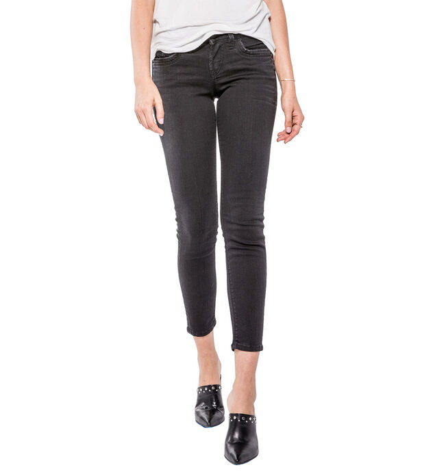 Suki Ankle Skinny Color Wash
