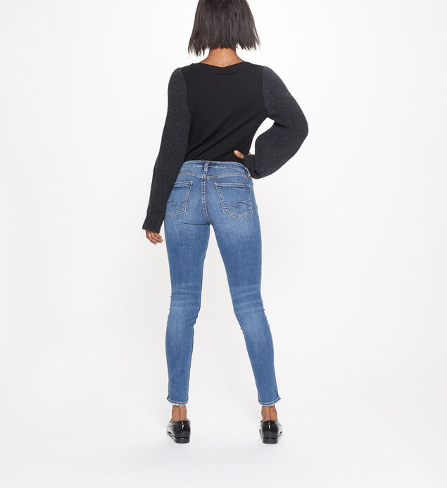 Aiko Skinny Mid-Rise Medium Wash, , hi-res