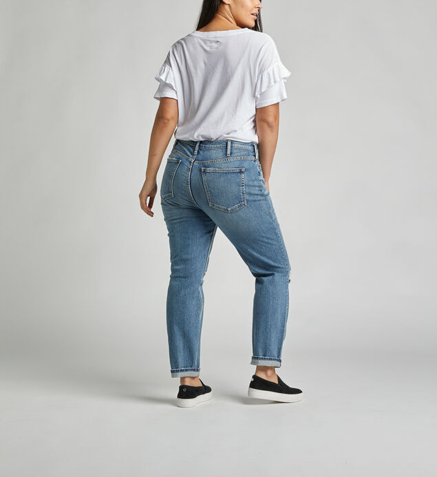 Frisco High-Rise Vintage Tapered Jeans, , hi-res