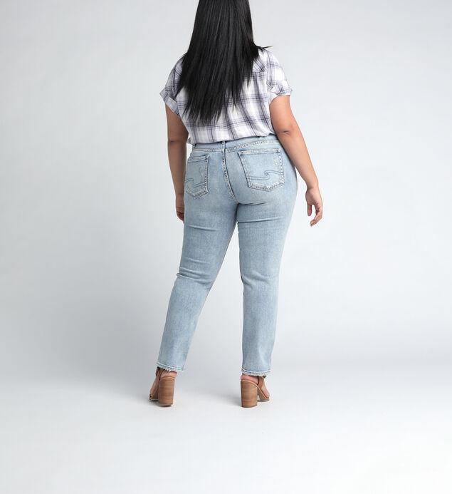 Elyse Mid Rise Slim Leg JeansPlus Size, , hi-res