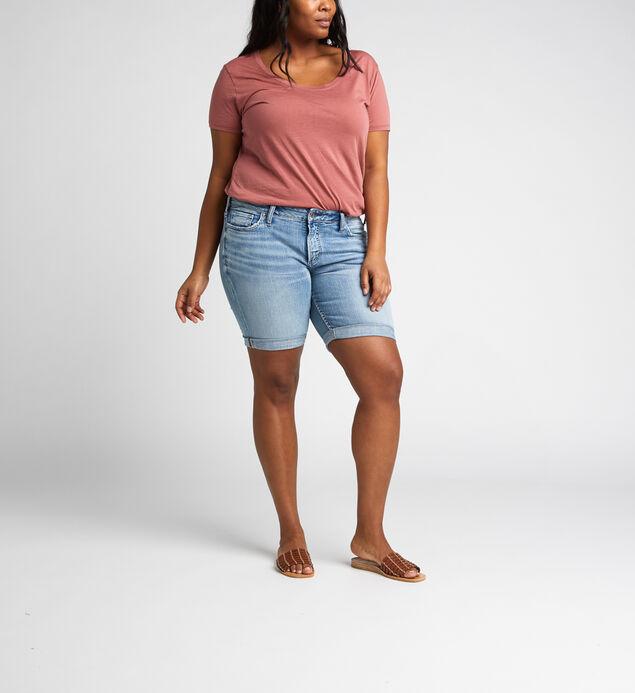 Suki Mid Rise Bermuda Short Plus Size