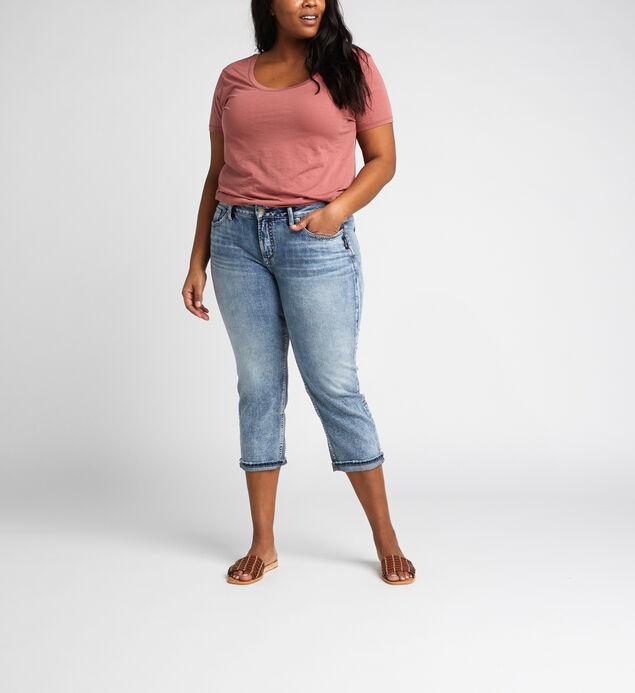 Suki Mid Rise Capri Plus Size