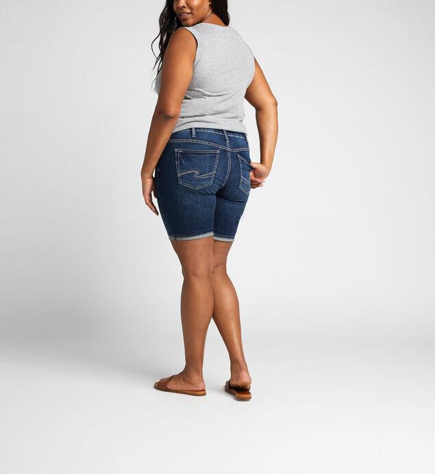 Suki Mid Rise Bermuda Short Plus Size, , hi-res