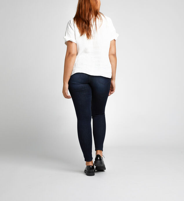 Mazy Skinny High Rise Dark Wash, , hi-res