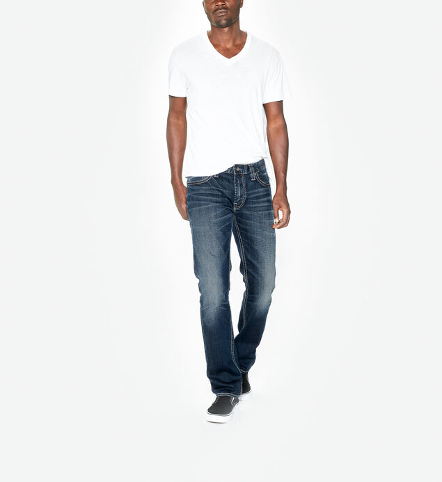 Allan Slim Leg Dark Wash