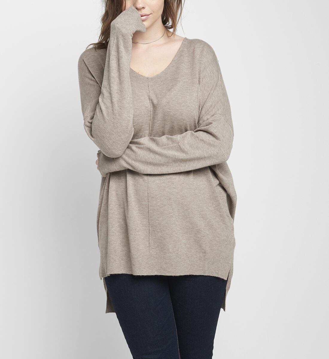 Devon Sweater Front