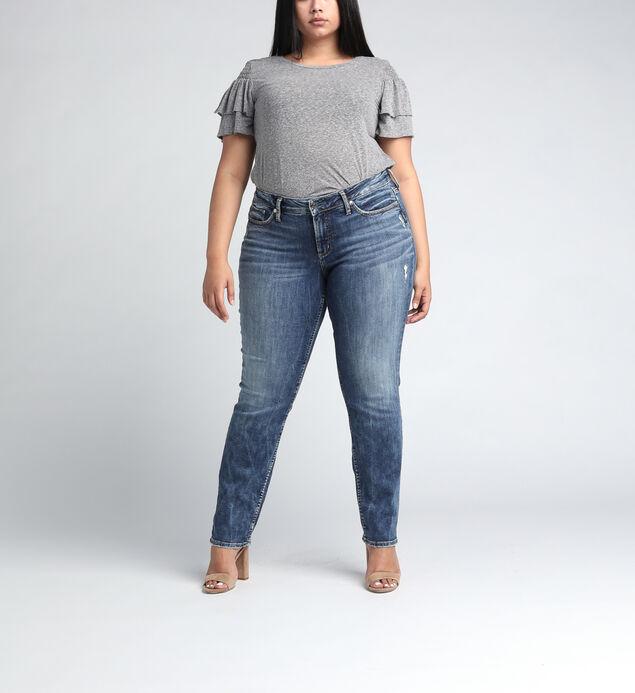 Suki Mid Rise Slim Leg JeansPlus Size