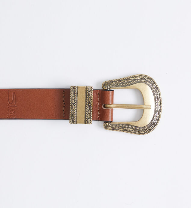 Western Leather Womens Belt