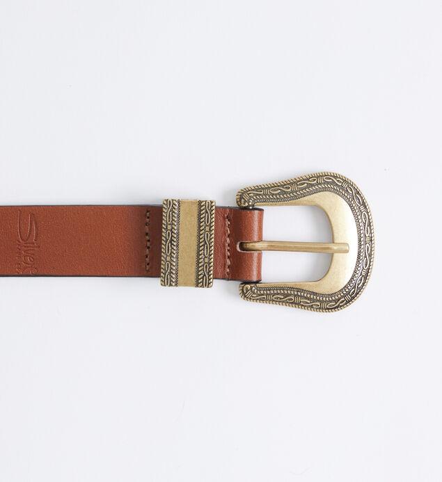 Western Leather Womens Belt