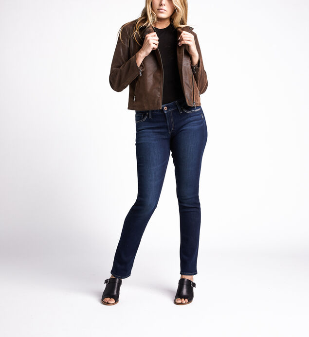 Sibley Faux-Leather Moto Jacket, Brown, hi-res