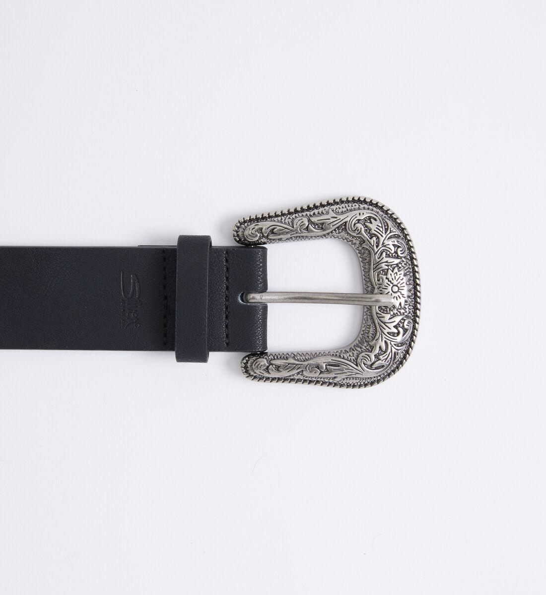 Western Studded Womens Belt Front
