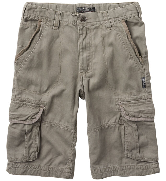 Twill Cargo Shorts (7-16)