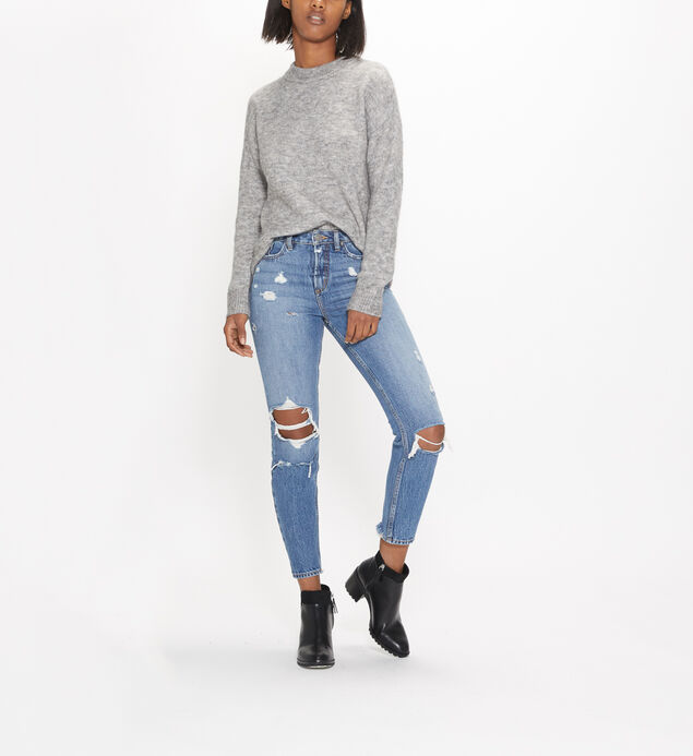 East End High Rise Ankle Slim Jeans