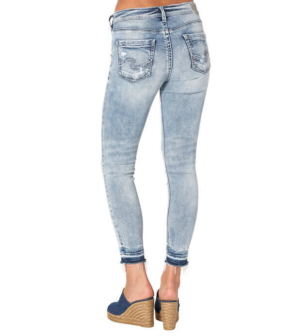 Avery  Ankle Skinny Light Wash, , hi-res