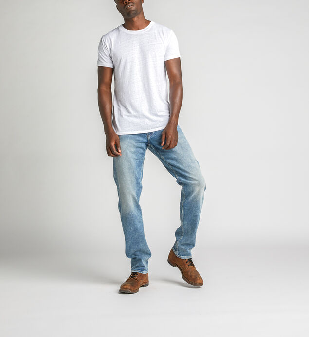 Eddie Relaxed Fit Tapered Leg Jeans