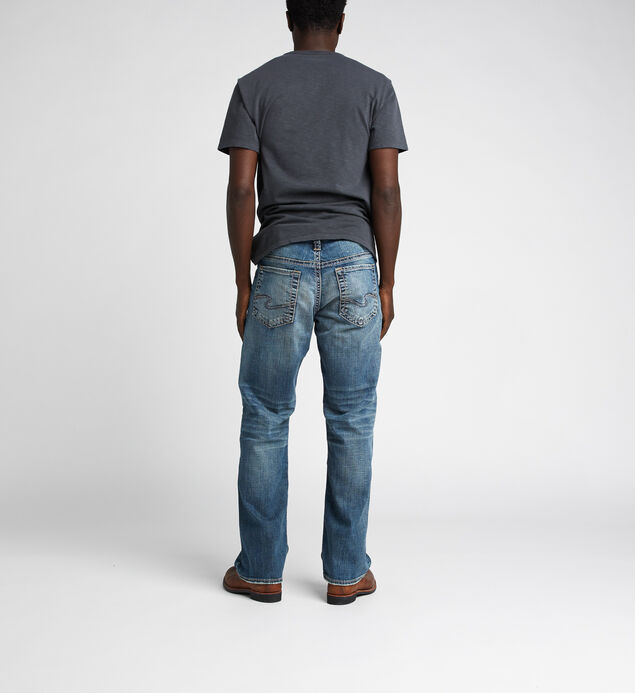 Gordie Loose Fit Straight Jeans, Indigo, hi-res