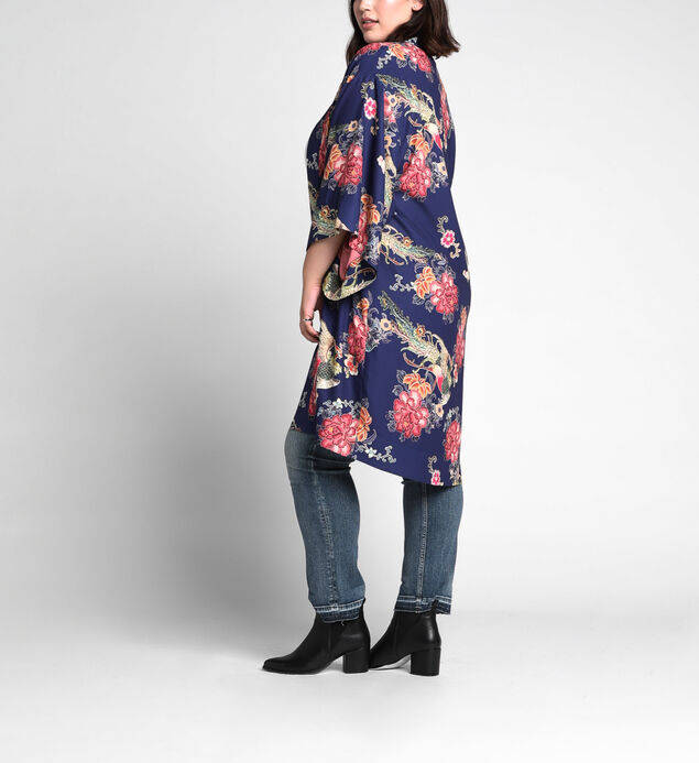 Jordyn Floral-Print Kimono, , hi-res
