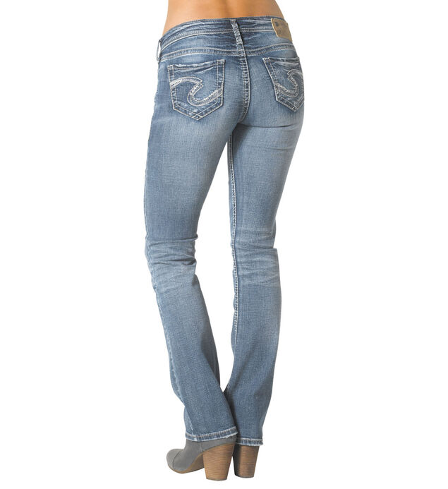 Tuesday Low Slim Boot Medium Wash, , hi-res