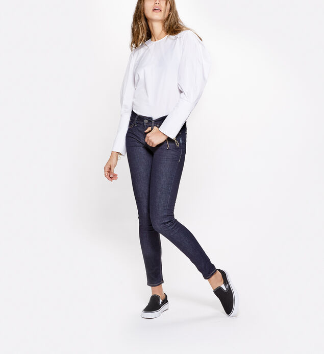 Aiko Super Skinny Dark Wash