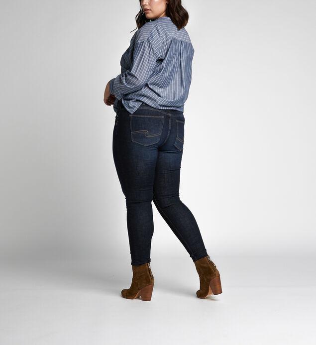 Elyse Mid Rise Skinny Leg Jeans Plus Size, , hi-res