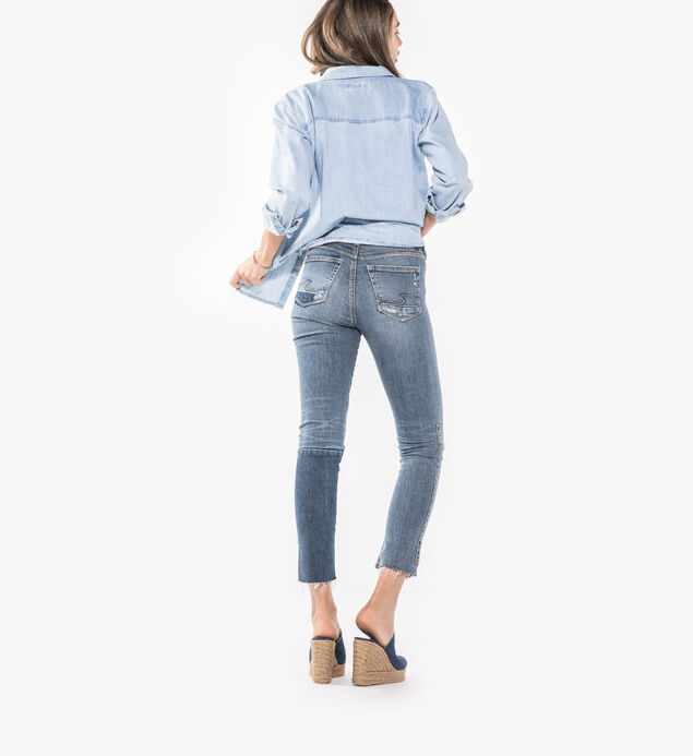 Izzy Ankle Slim Medium Wash, , hi-res