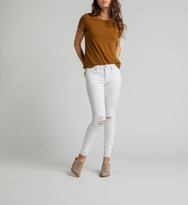 Most Wanted Mid Rise Skinny Leg Jeans