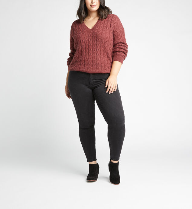 Most Wanted Mid Rise Skinny Leg Jeans Plus Size