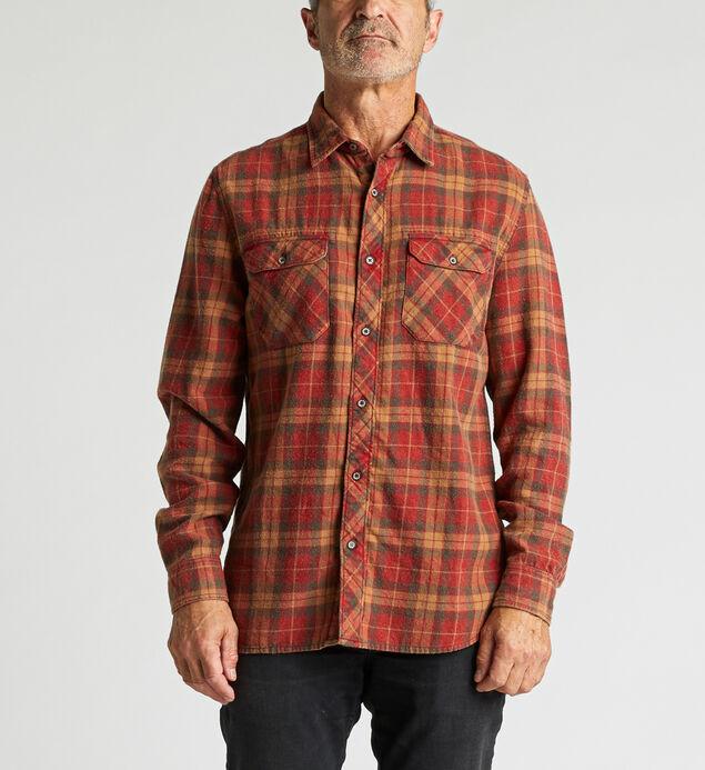 Cornell Long-Sleeve Plaid Shirt