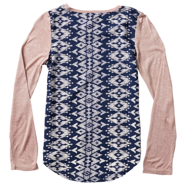 Long Sleeve Knit Top, , hi-res