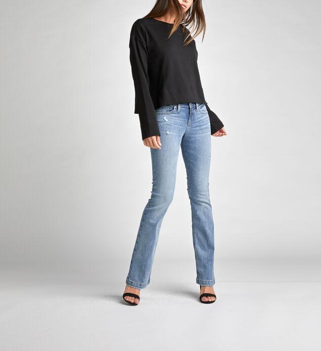 Suki Mid-Rise Curvy Bootcut Jeans