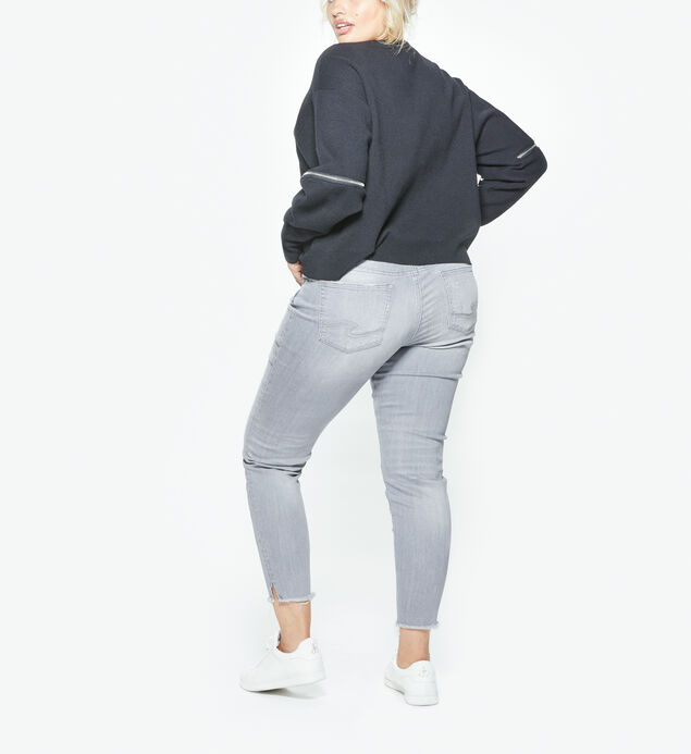 Aiko Ankle Skinny Grey Wash, , hi-res