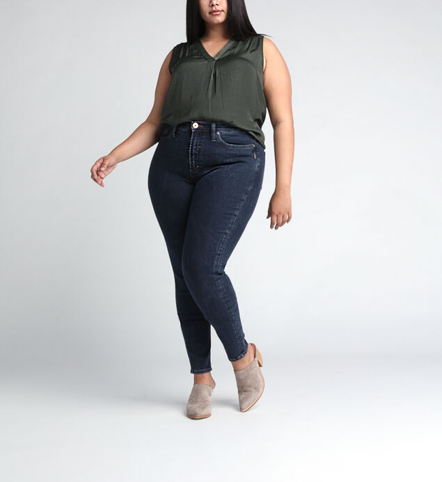 Calley Super High Rise Skinny Leg Jeans Plus Size