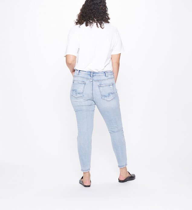 Aiko Ankle Skinny Embroidered Light Wash, , hi-res