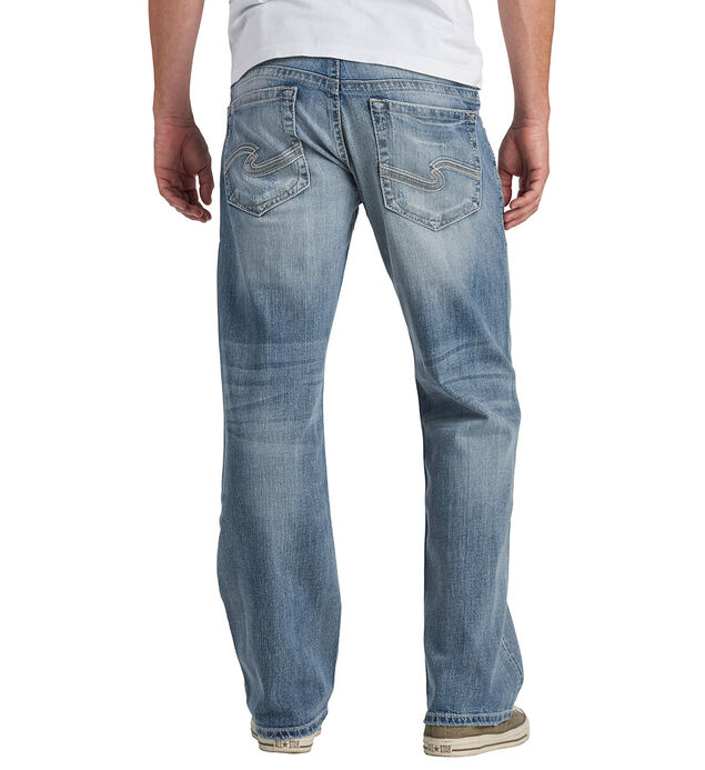 Eddie Relaxed Fit Tapered Leg Jeans - Big & Tall, , hi-res